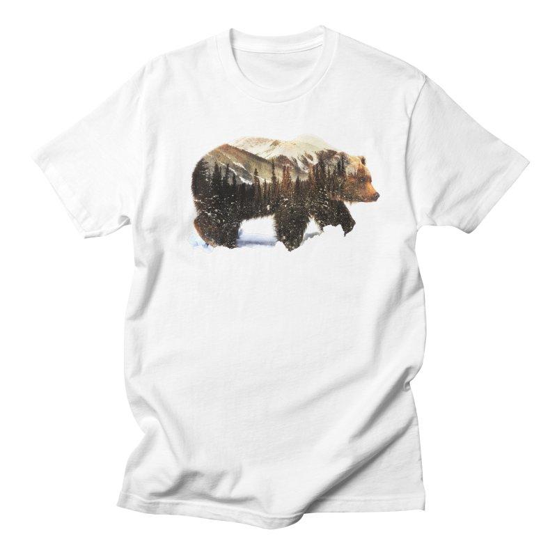 Bear Men's Regular T-Shirt by Andreas Lie
