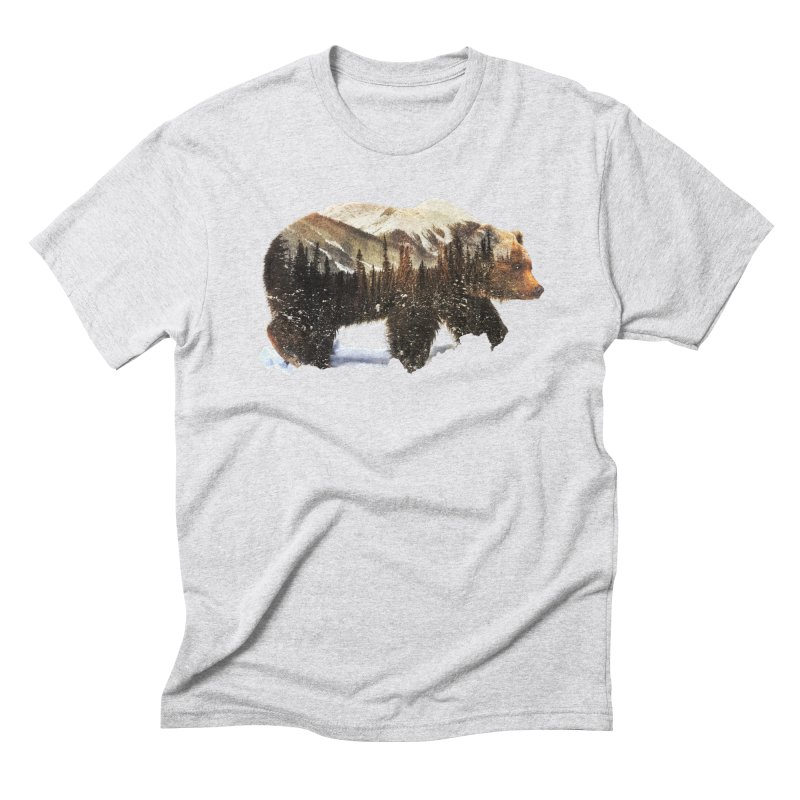 Bear Men's Triblend T-Shirt by Andreas Lie