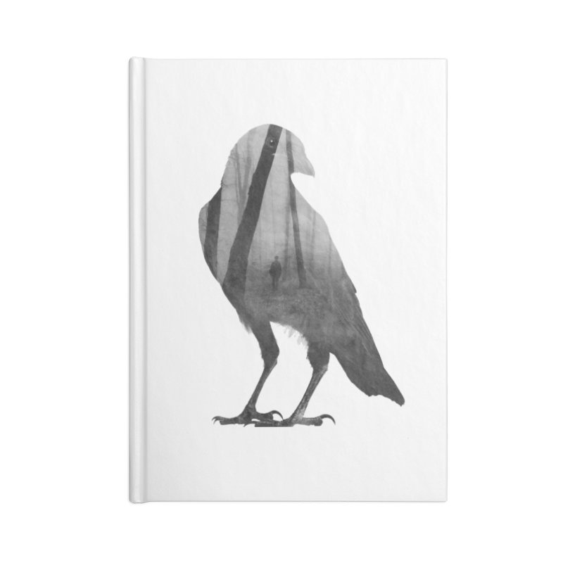 Crow Accessories Notebook by Andreas Lie