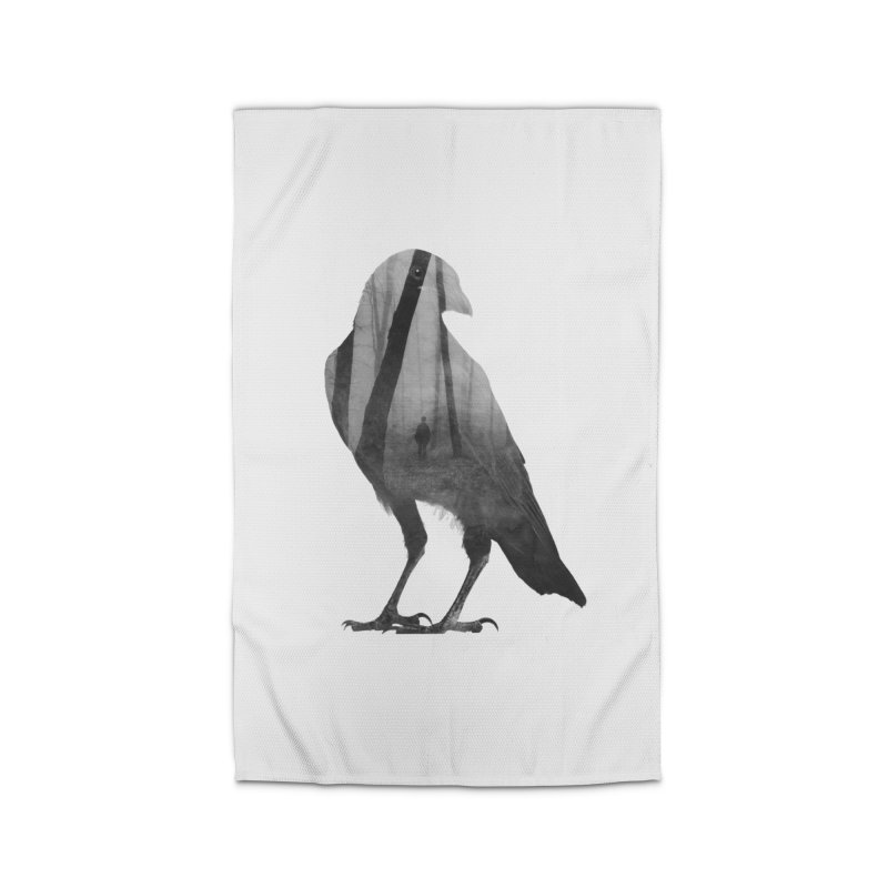 Crow Home Rug by Andreas Lie