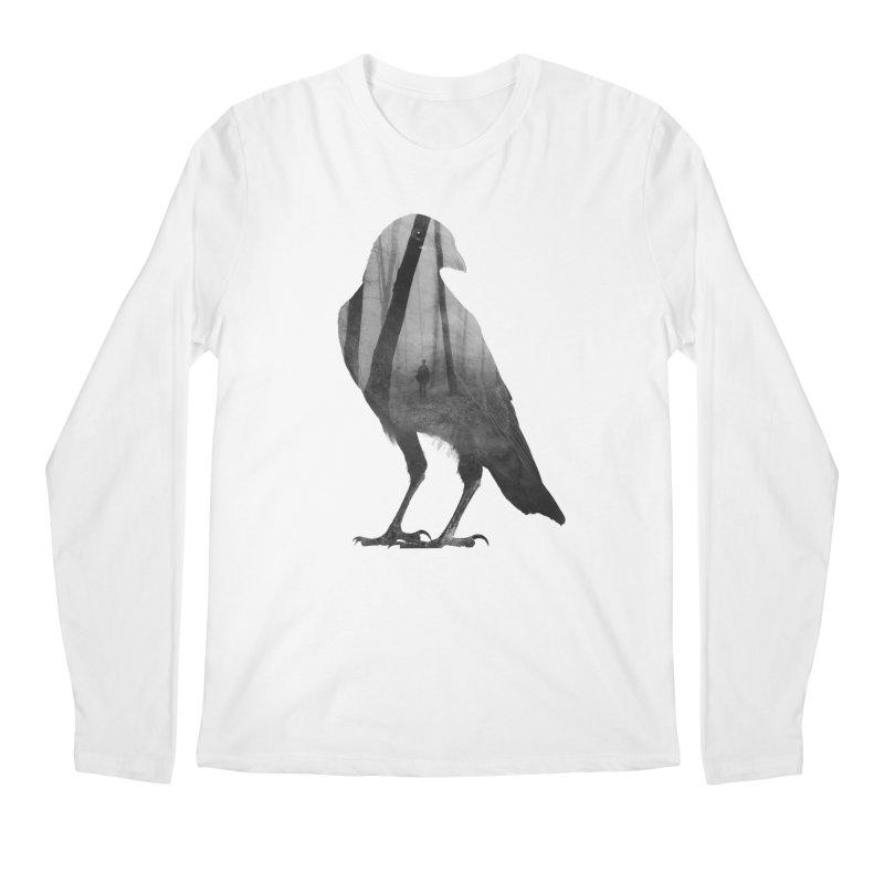 Crow Men's Regular Longsleeve T-Shirt by Andreas Lie