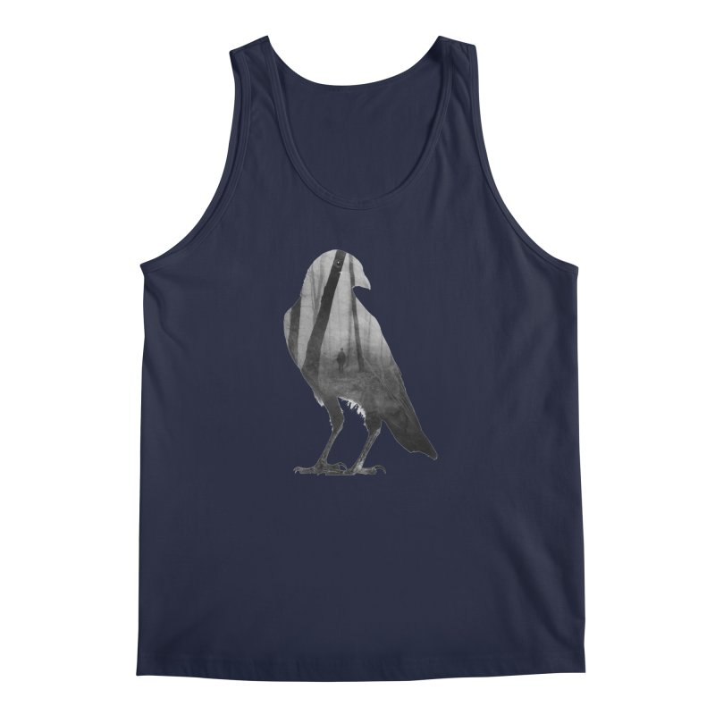 Crow Men's Tank by Andreas Lie
