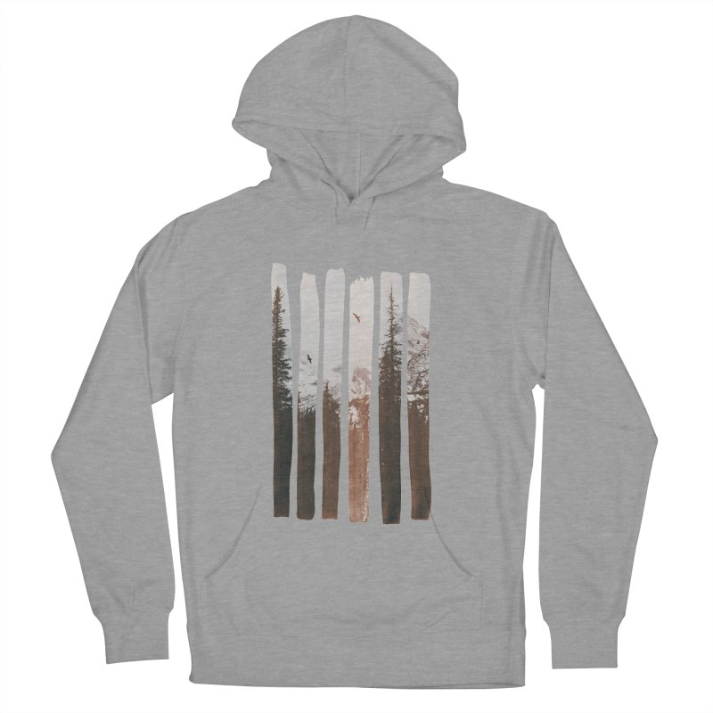 Into The Wild Women's French Terry Pullover Hoody by Andreas Lie