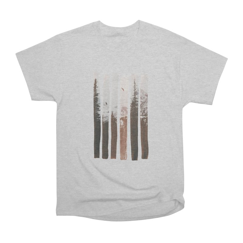 Into The Wild Men's Heavyweight T-Shirt by Andreas Lie