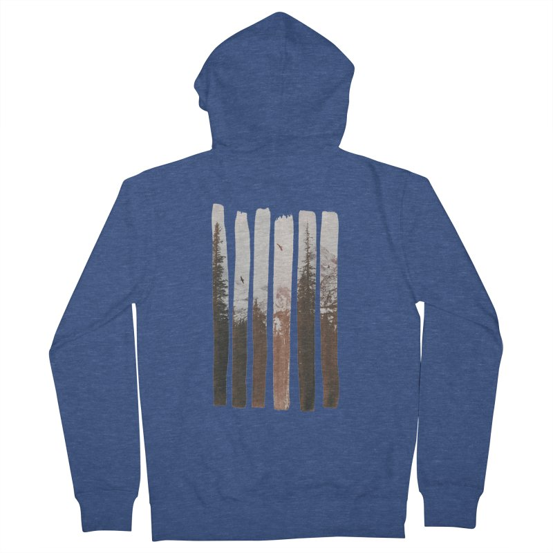 Into The Wild Women's French Terry Zip-Up Hoody by Andreas Lie