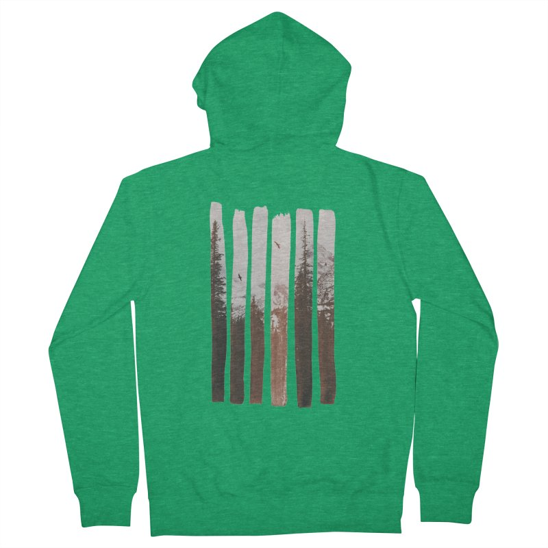 Into The Wild Men's Zip-Up Hoody by Andreas Lie