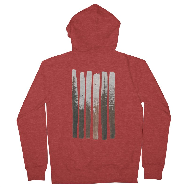 Into The Wild Men's French Terry Zip-Up Hoody by Andreas Lie