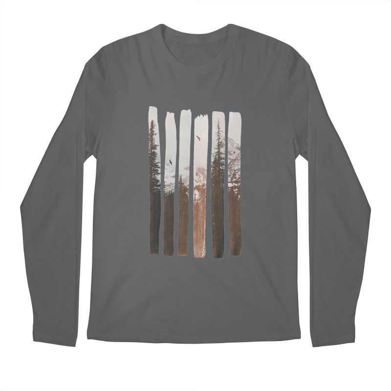 Into The Wild Men's Regular Longsleeve T-Shirt by Andreas Lie