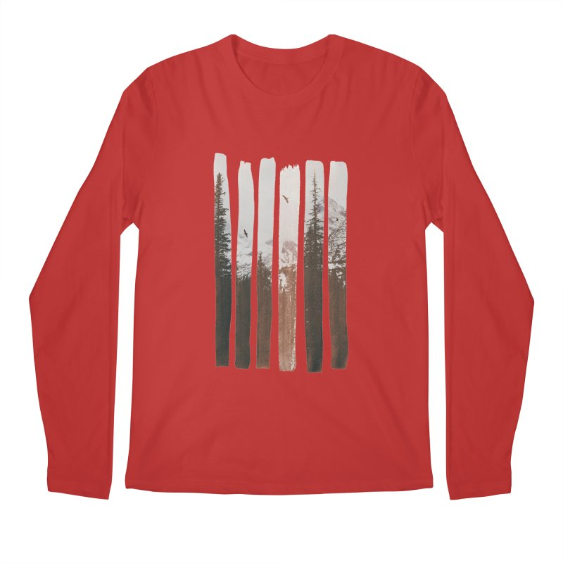 Into The Wild Men's Longsleeve T-Shirt by Andreas Lie