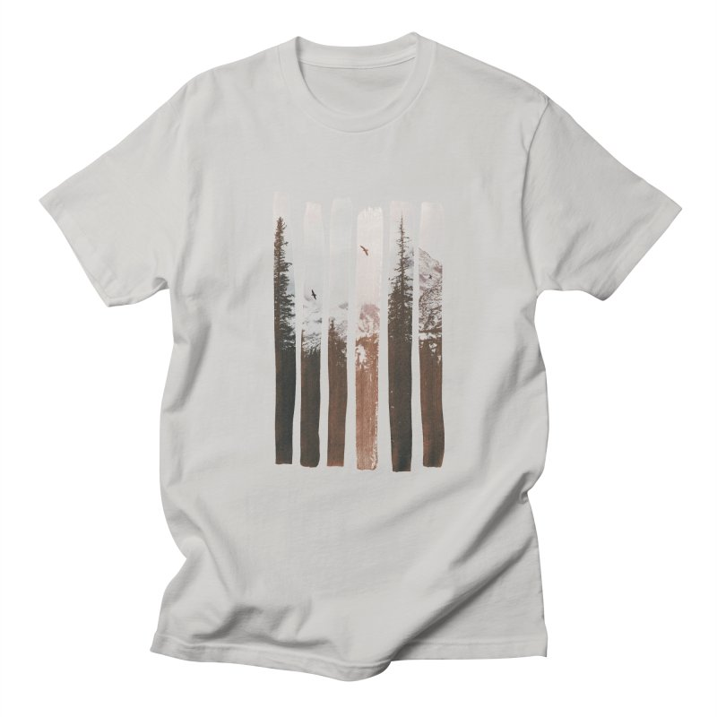 Into The Wild Men's Regular T-Shirt by Andreas Lie