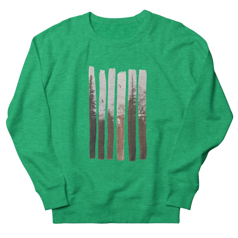 Into The Wild Men's French Terry Sweatshirt by Andreas Lie