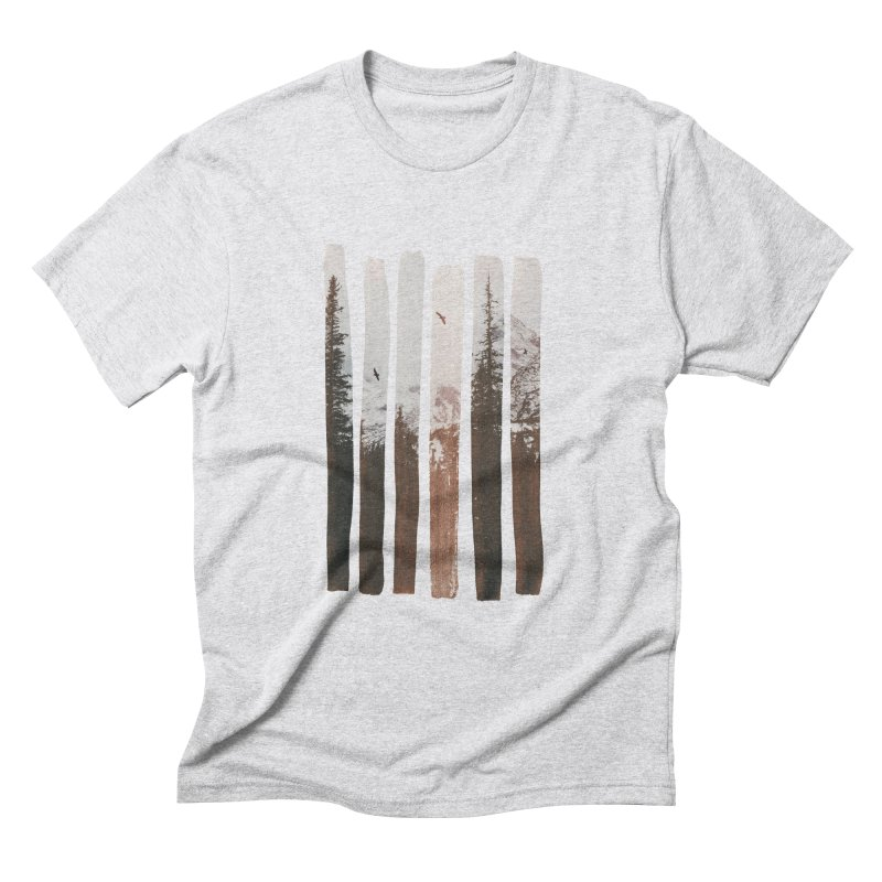 Into The Wild Men's Triblend T-Shirt by Andreas Lie