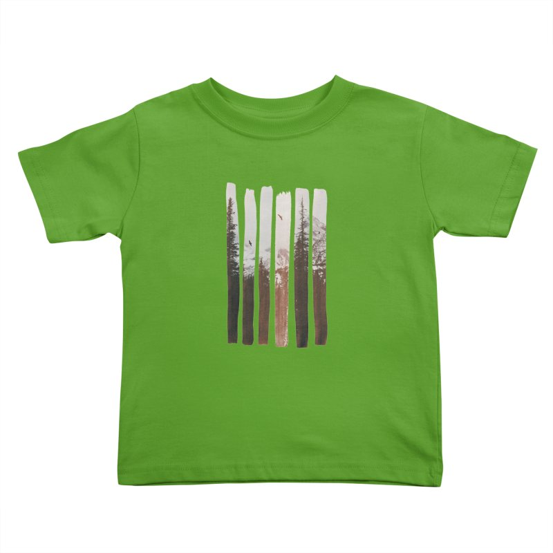 Into The Wild Kids Toddler T-Shirt by Andreas Lie