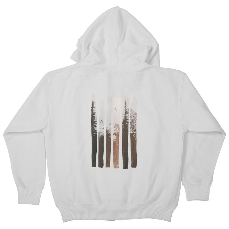 Into The Wild Kids Zip-Up Hoody by Andreas Lie