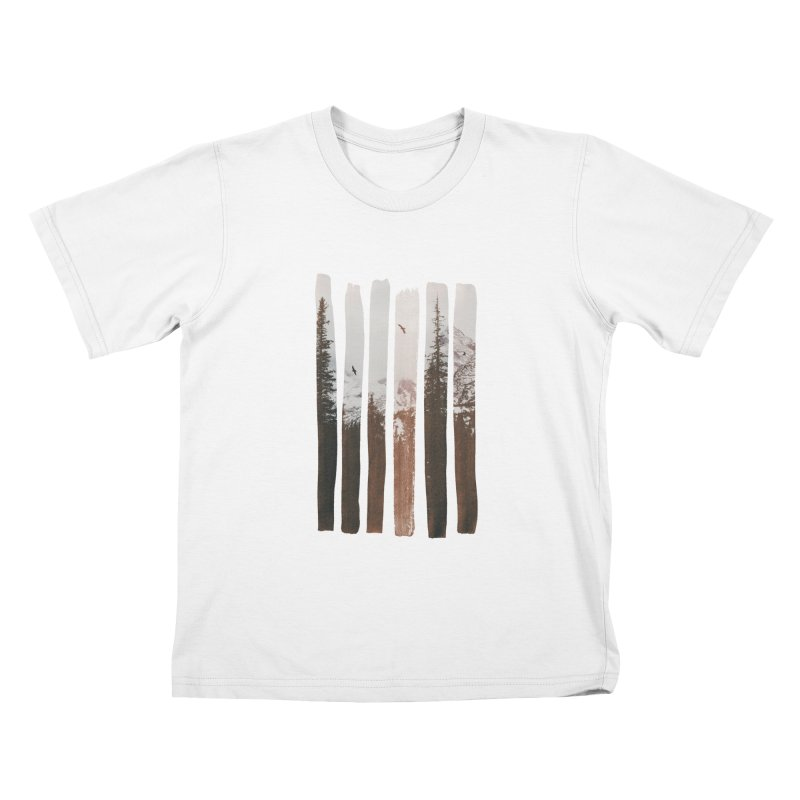 Into The Wild Kids T-Shirt by Andreas Lie
