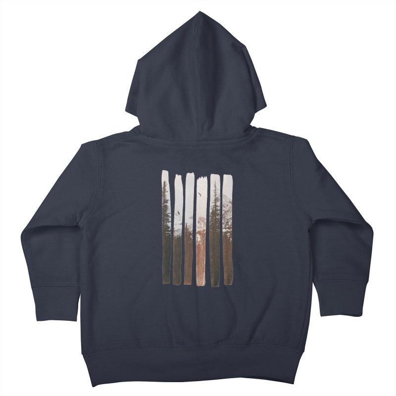 Into The Wild Kids Toddler Zip-Up Hoody by Andreas Lie