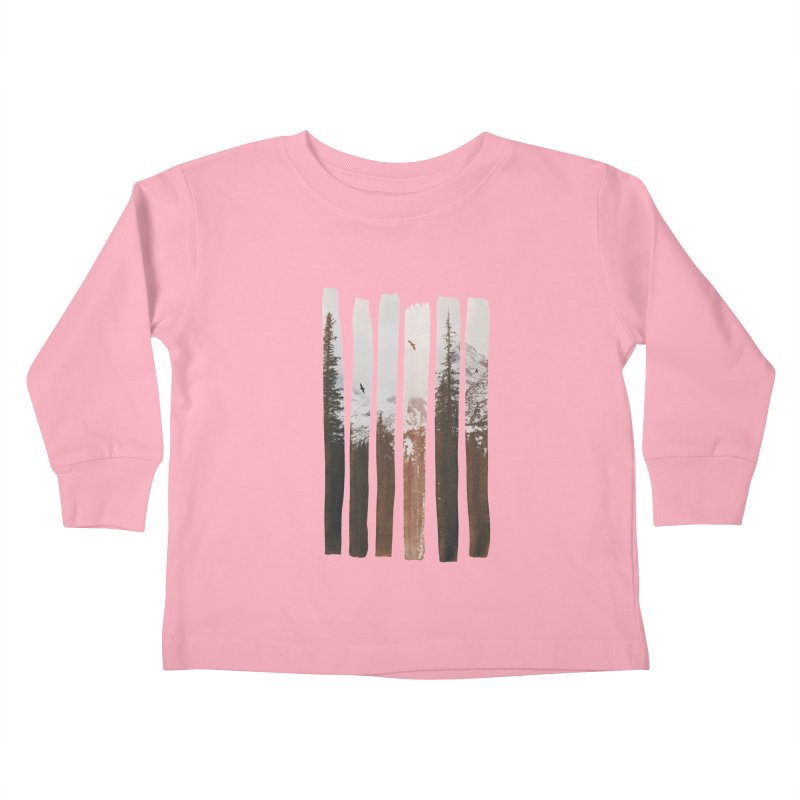 Into The Wild Kids Toddler Longsleeve T-Shirt by Andreas Lie