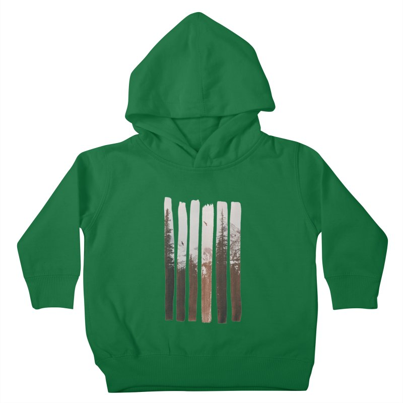 Into The Wild Kids Toddler Pullover Hoody by Andreas Lie