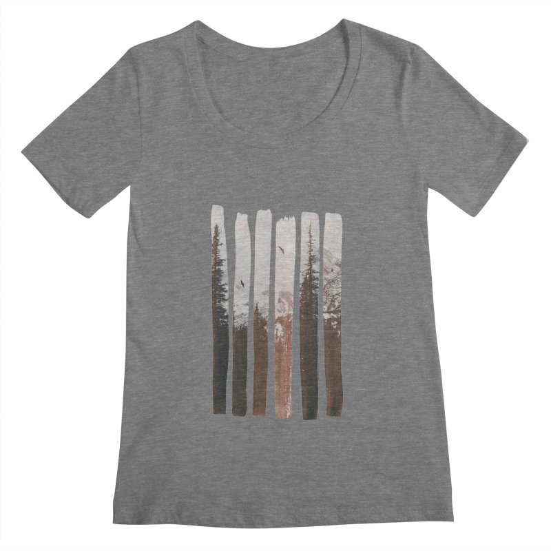 Into The Wild Women's Scoopneck by Andreas Lie