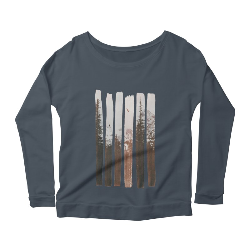 Into The Wild Women's Longsleeve Scoopneck  by Andreas Lie