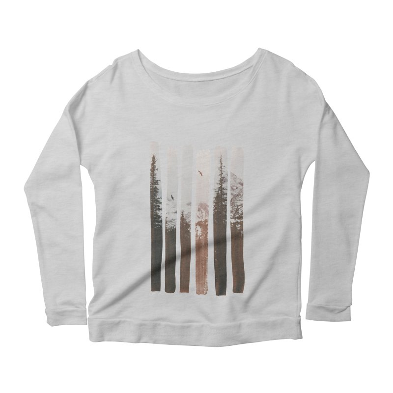 Into The Wild Women's Scoop Neck Longsleeve T-Shirt by Andreas Lie
