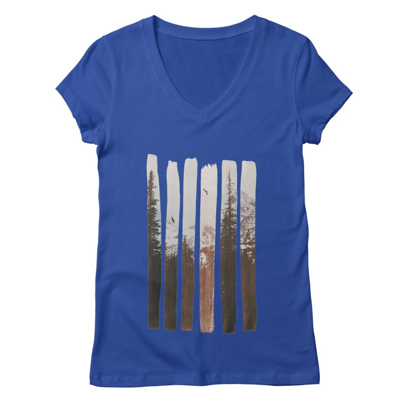 Into The Wild Women's Regular V-Neck by Andreas Lie
