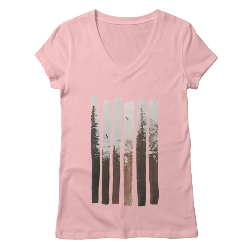 Into The Wild Women's V-Neck by Andreas Lie