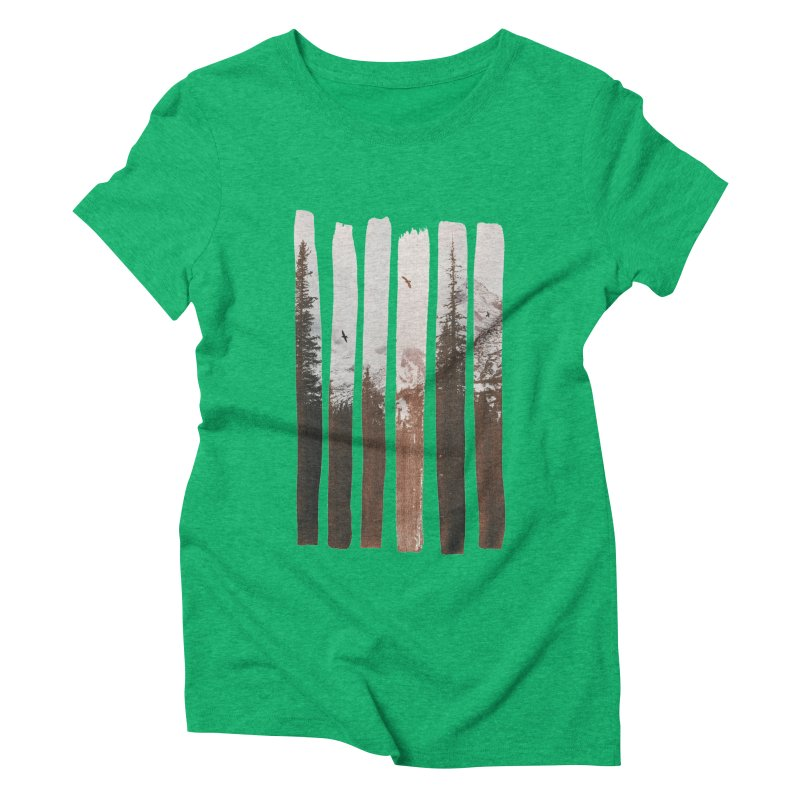 Into The Wild Women's Triblend T-Shirt by Andreas Lie