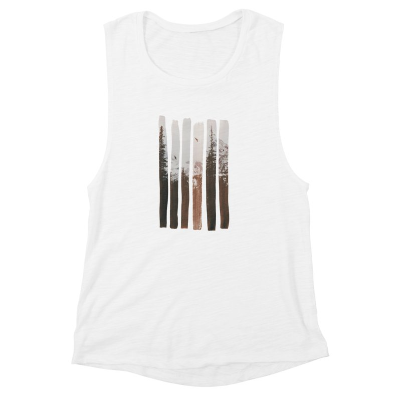 Into The Wild Women's Muscle Tank by Andreas Lie