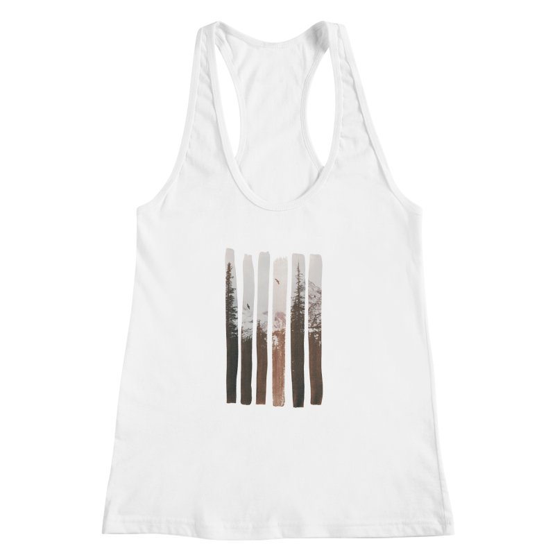 Into The Wild Women's Racerback Tank by Andreas Lie