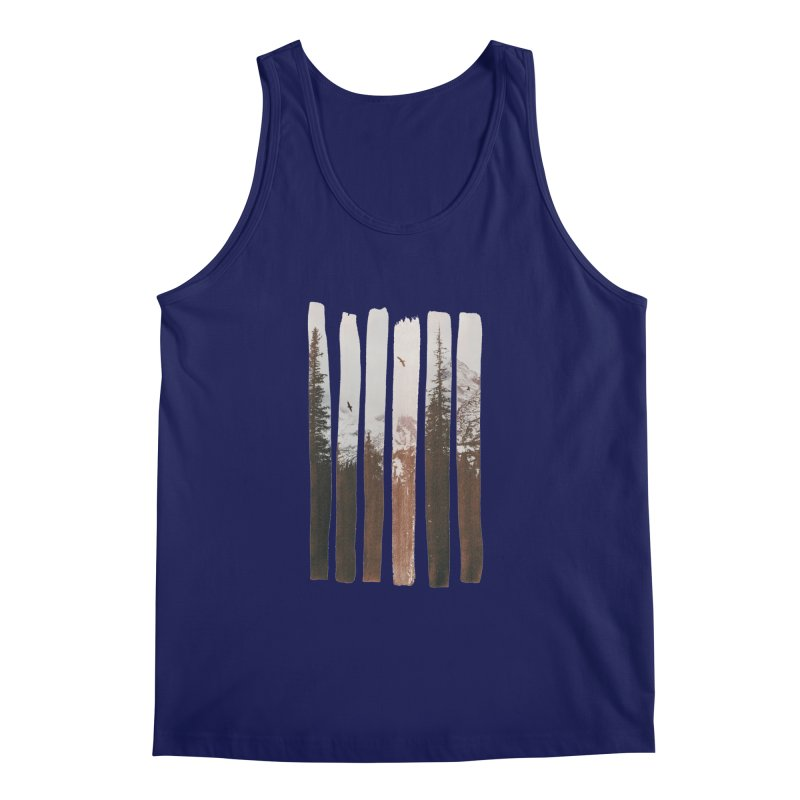 Into The Wild Men's Tank by Andreas Lie