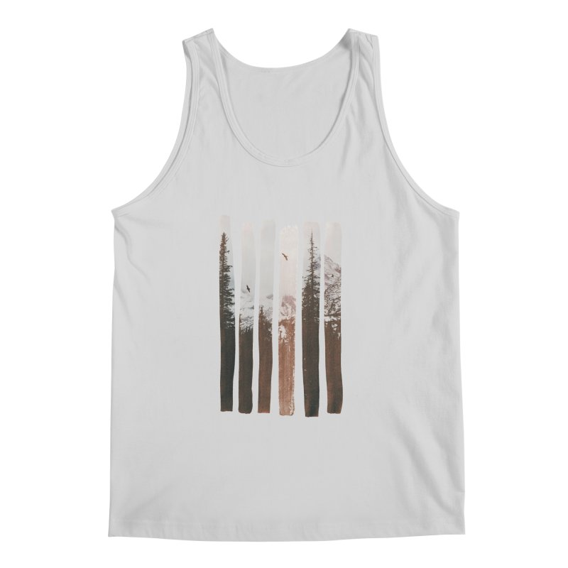 Into The Wild Men's Regular Tank by Andreas Lie