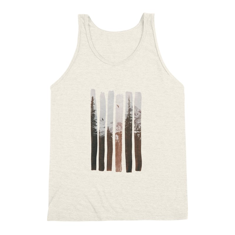 Into The Wild Men's Triblend Tank by Andreas Lie