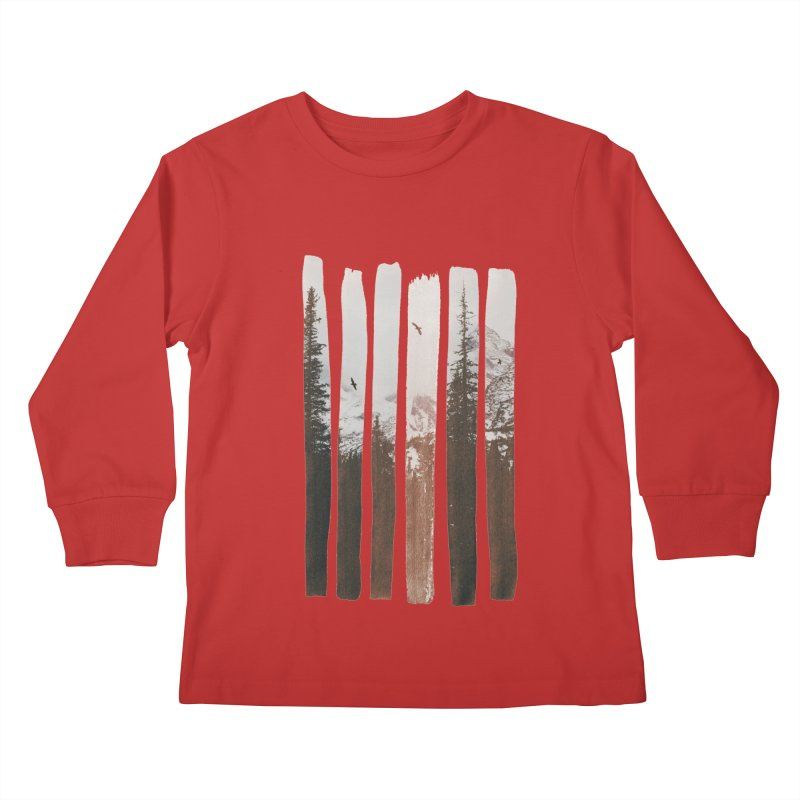 Into The Wild Kids Longsleeve T-Shirt by Andreas Lie