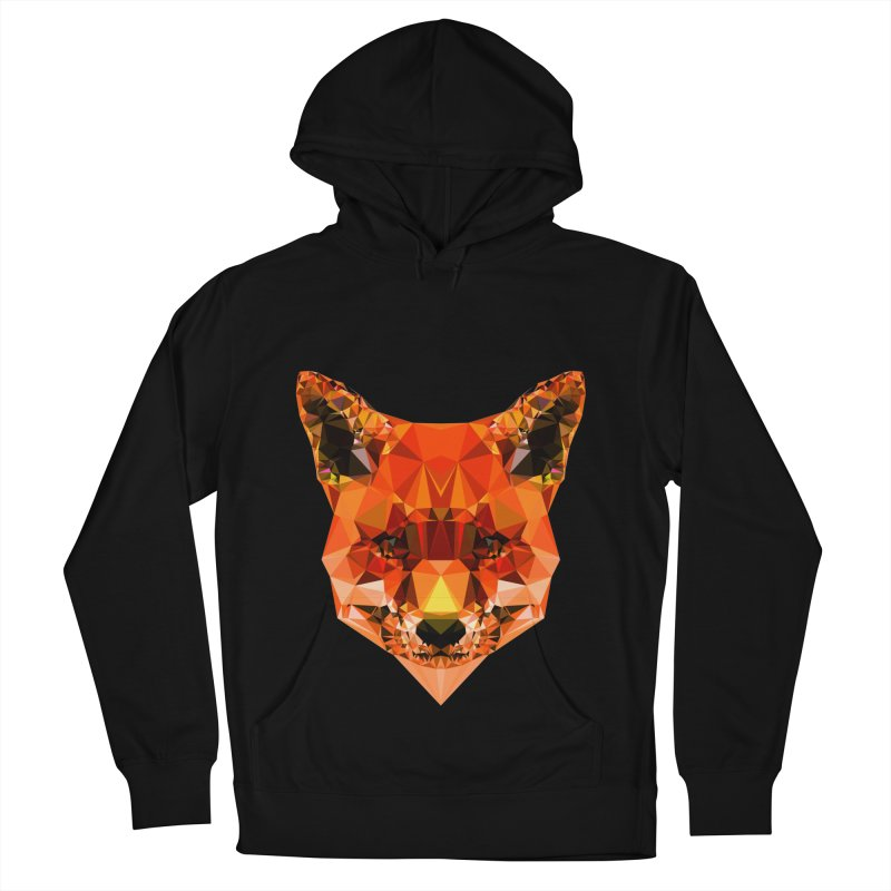 Fox Women's French Terry Pullover Hoody by Andreas Lie