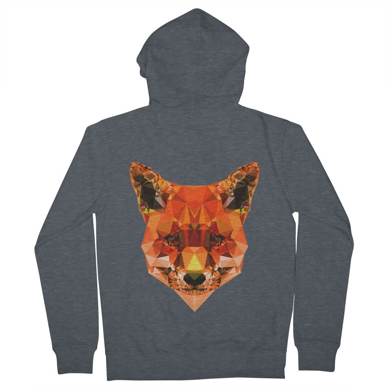 Fox Men's French Terry Zip-Up Hoody by Andreas Lie