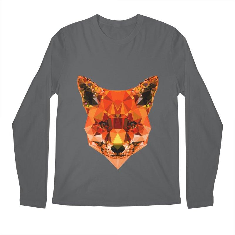 Fox Men's Longsleeve T-Shirt by Andreas Lie