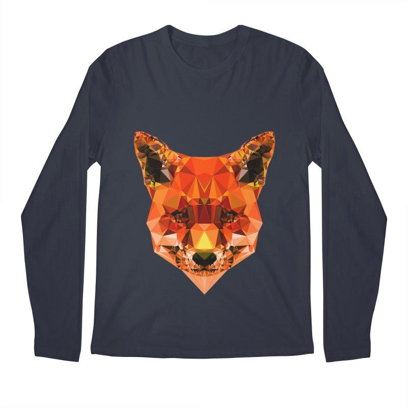 Fox Men's Regular Longsleeve T-Shirt by Andreas Lie