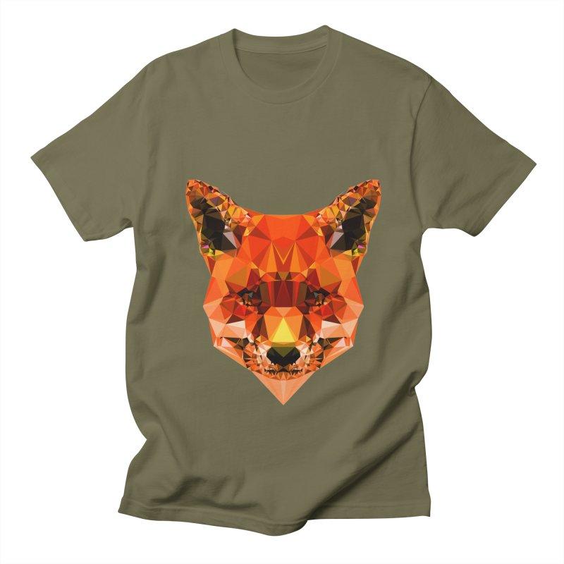 Fox Women's Regular Unisex T-Shirt by Andreas Lie