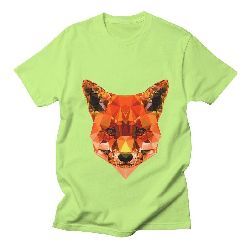 Fox Men's Regular T-Shirt by Andreas Lie