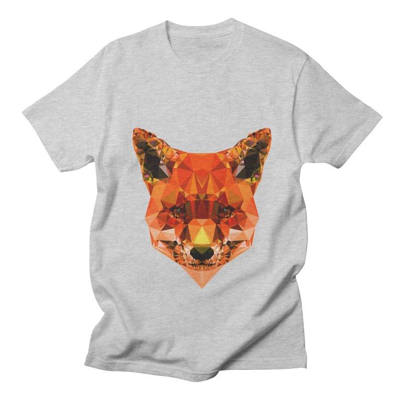 Fox Men's T-Shirt by Andreas Lie