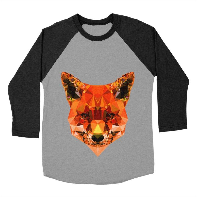 Fox Women's Baseball Triblend T-Shirt by Andreas Lie