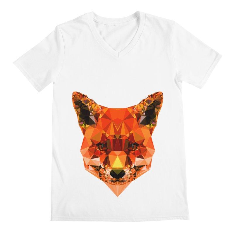 Fox Men's Regular V-Neck by Andreas Lie