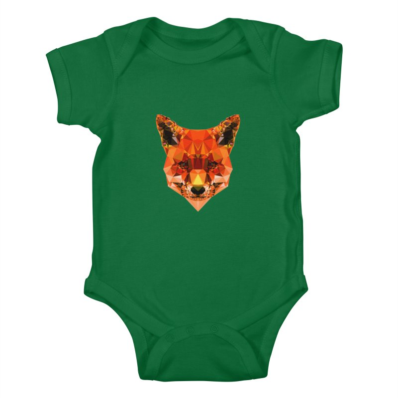 Fox Kids Baby Bodysuit by Andreas Lie