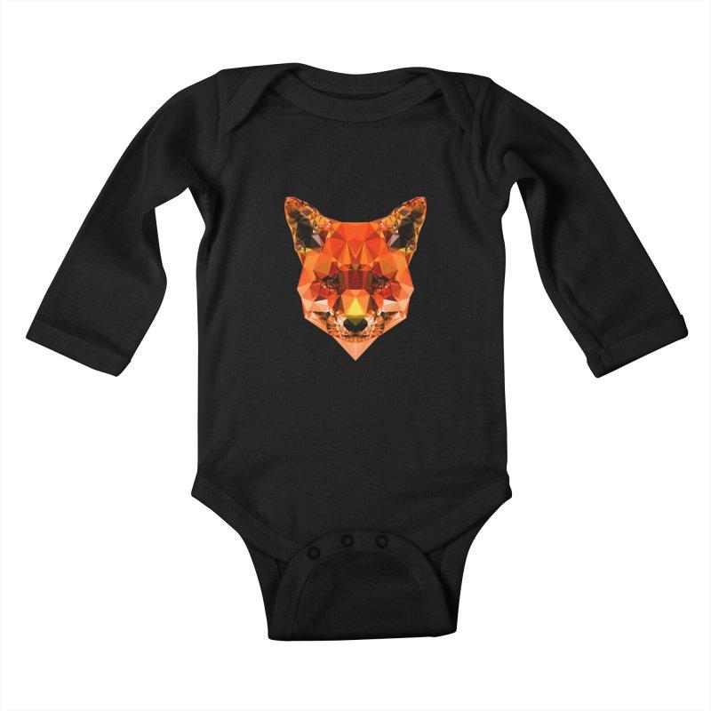 Fox Kids Baby Longsleeve Bodysuit by Andreas Lie