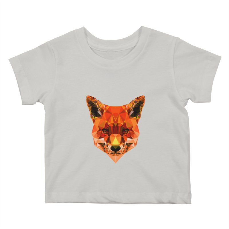 Fox Kids Baby T-Shirt by Andreas Lie