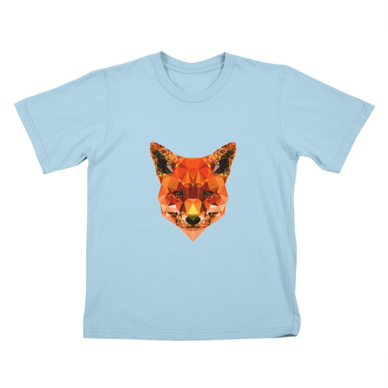 Fox Kids T-Shirt by Andreas Lie