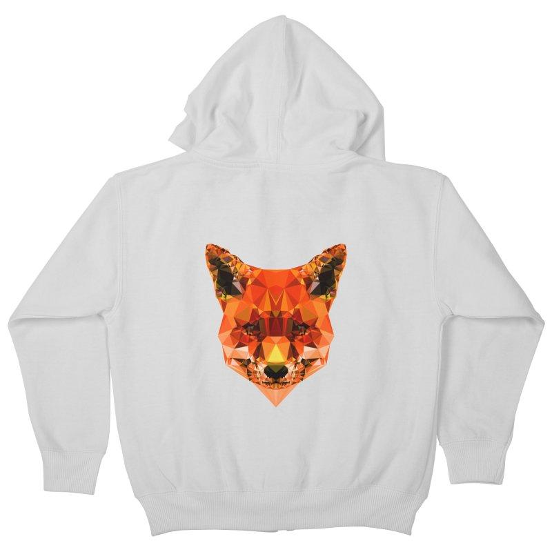 Fox Kids Zip-Up Hoody by Andreas Lie