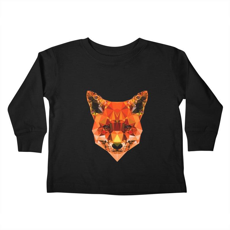 Fox Kids Toddler Longsleeve T-Shirt by Andreas Lie