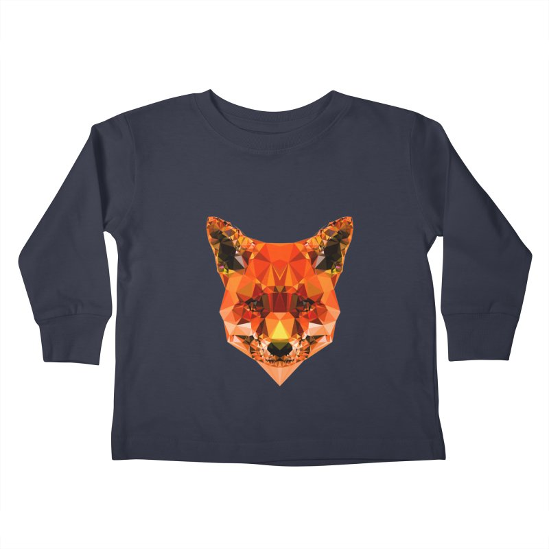 Fox Kids Toddler Longsleeve T-Shirt by Andreas Lie